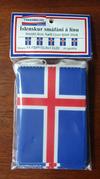 Fánalína ísland minkuð