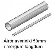 Álrör 50mm veggþykkt 5mm