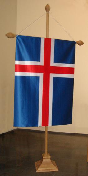 Hátíðarfánastöng sérsmíðuð